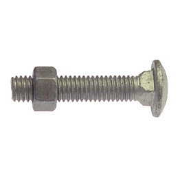 "Carriage Bolts 3/8"" x 2"""