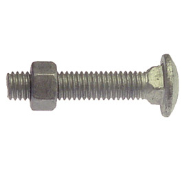 "Carriage Bolts 3/8"" x 3"""