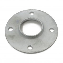"Floor Flange 2-1/2"" Residential Pressed Steel"