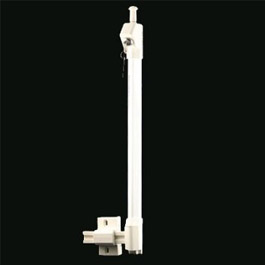 "13"" Mighty Magnetic Gate Latch White"